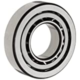 FAG 7200B-TVP Angular Contact Ball Bearing, Single Row, Open, 40° Contact Angle, Polyamide/Nylon Cage, Normal Clearance, Metric, 10mm ID, 30mm OD, 9mm Width, 32000rpm Maximum Rotational Speed, 560lbf Static Load Capacity, 1120lbf Dynamic Load Capacity,