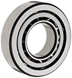 FAG 7308B-TVP Angular Contact Ball Bearing, Single Row, Open, 40° Contact Angle, Polyamide/Nylon Cage, Normal Clearance, Metric, 40mm ID, 90mm OD, 23mm Width, 8500rpm Maximum Rotational Speed, 7800lbf Static Load Capacity, 11200lbf Dynamic Load Capacity,
