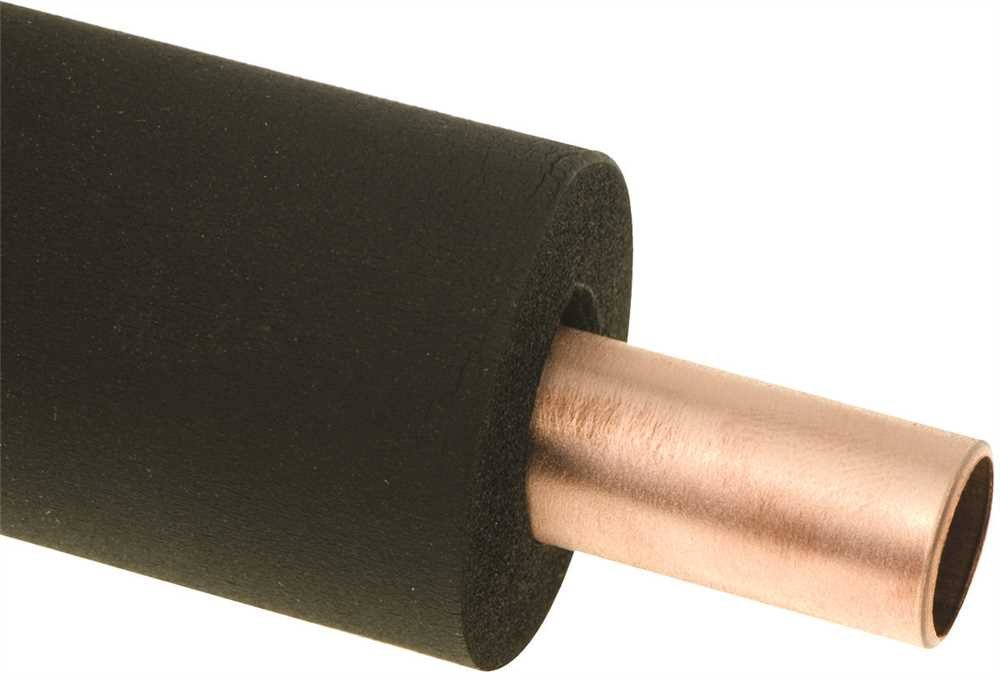 THERMWELL R11XB/6 Thermwell Closed Cell Rubber Pipe Insulation, 7/8'' ID x 3/8'' Wall, Plastic, 10'' x 74'' x 16'' (Pack of 45)