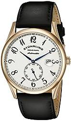 Stuhrling Original Men's 171B.334532 Classic Cuvette Automatic Date Rose Tone Watch