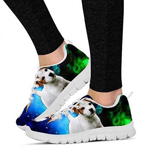 Terrier 5 Casual Cute Print Brand Russell Sneakers Women's Jack Dog gtnqfTZ