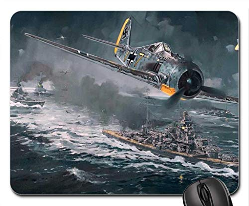 Wwii Warplanes - Echonie WWII Warplane Scene Mouse Pad, Mousepad
