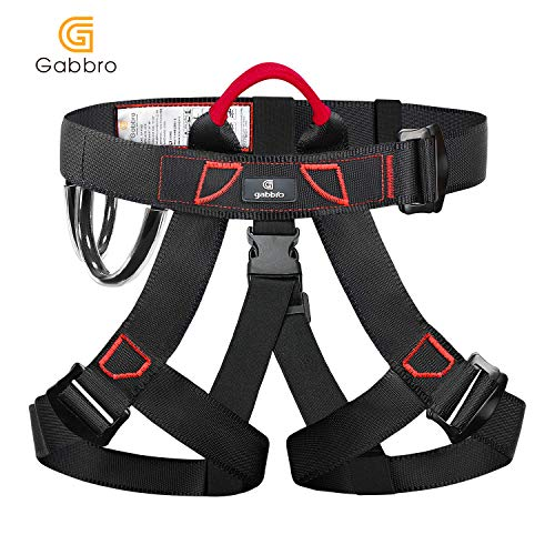 Gabbro Climbing Harness, Thickened Wider Safety Harness to...