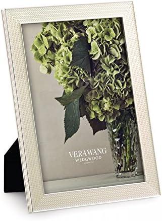 Wedgwood Vera Wang con amore perla Photo Frame 12,5 centimetri per 17,5 centimetri
