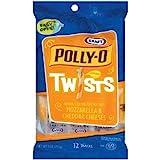 mozzarella cheddar cheese twists - KRAFT CHEESE POLLY-0 TWISTS CHEDDAR & MOZZARELLA 9 OZ PACK OF 3