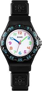 Kids Watches Cute Cartoon Waterproof Analog Quartz Wrist Watch Time Teacher 3-10 Years Old Boys Girls Little Child