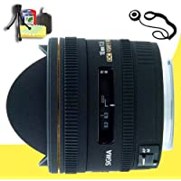 Sigma 10mm f/2.8 EX DC HSM Fisheye Lens for Pentax Digital SLR Cameras + Lens Cap Keeper + Deluxe Starter Kit DavisMAX Bundle