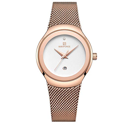 Women Fashion Analog Quartz Watch Casual Waterproof Lady Dress Watches Simple Luxury Diamond Stainless Steel Band Wristwatch