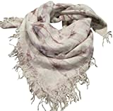 Chan Luu Women's Bow Print Cashmere & Silk Scarf Etherea Mix Scarf One Size