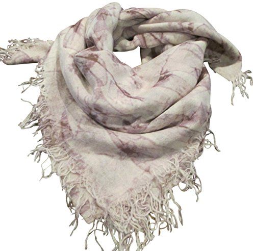 Chan Luu Women's Bow Print Cashmere & Silk Scarf Etherea Mix Scarf One Size by Chan Luu