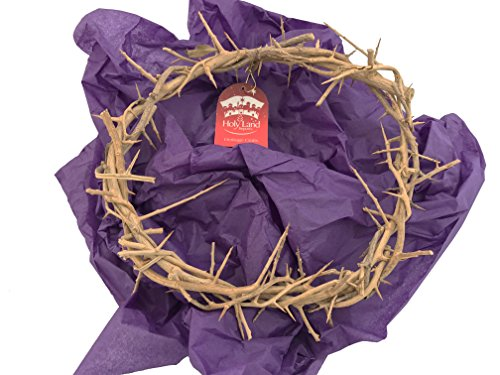 Holy Land Imports Passion of Christ Crown of Thorns Crown of Thorns Jesus Crown of Thorns Gift Boxed
