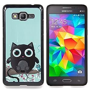 Stuss Case / Funda Carcasa protectora - Criatura linda del gato - Samsung Galaxy Grand Prime G530H / DS