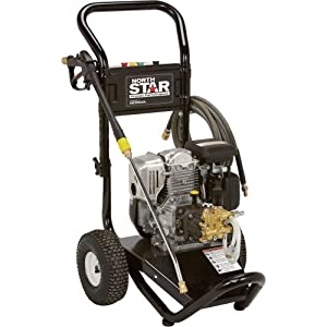 NorthStar Gas Cold Water Pressure Washer - 3000 PSI, 2.5 GPM, Honda Engine, Model# 15775440