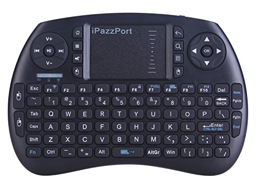 iPazzPort Wireless Mini Keyboard with Touchpad for Android TV Box and Raspberry Pi 3 B+ and HTPC KP-810-21S