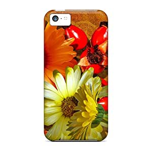 IiLXlfd6652awHnY Tpu Phone Case With Fashionable Look For Iphone 5c - Falls Fantastic Flowers