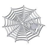 ZTY66 Spider Web Cutting Dies Cut Dies Stencil Metal Template Mould for DIY Scrapbook Album Paper Card