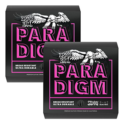 Ernie Ball 2023 Paradigm Electric Guitar String, Super Slinky 2 Pack