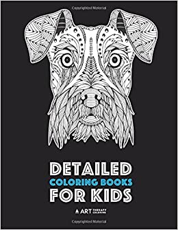 Detailed Coloring Books For Kids: Zendoodle Animal Designs ...