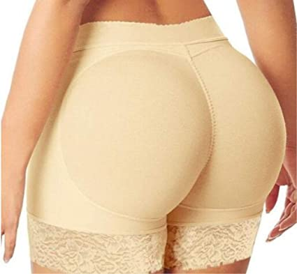 45f659d27b Image Unavailable. Image not available for. Color  MarshLing Woman Fake Ass  Padded Panties Women Body Shaper Butt Lifter Trainer Lift Butt Hip Enhancer