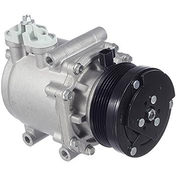 AUTEX AC Compressor & A/C Clutch CO 2486AC 77540 2C2Z19V703BC 3L2Z19V703AC Replacement for 2003 ford E-150 E-250 2003 2004 2005 ford E-150 Club Wagon 2002 ...