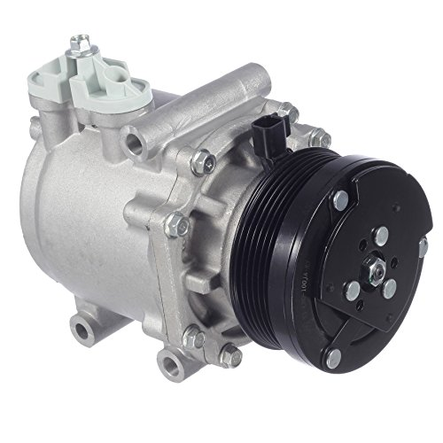 AUTEX AC Compressor & A/C Clutch CO 2486AC 77540 2C2Z19V703BC 3L2Z19V703AC Replacement for Ford E-150 E-250 2003/Ford E-150 Club Wagon 2003 2004 2005/Ford Explorer 2002 2003 2004 2005