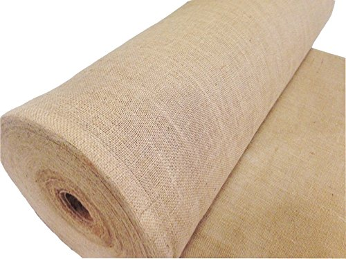 AK-Trading 90-Inch Wide Natural Burlap Fabric - Perfect for Weddings, Events, Home, Crafts, Gardening (90'' Wide x 25 Yards Roll) by AK TRADING CO. (Image #8)