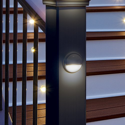 LED Post Lamp- Charcoal Black, BKLAMPLEDC by TREX (Image #4)