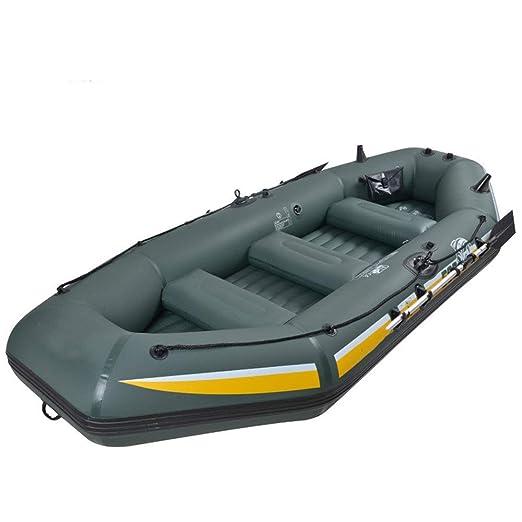 Feixunfan Kayak Barco de Pesca Inflable de PVC Kayak portátil for ...