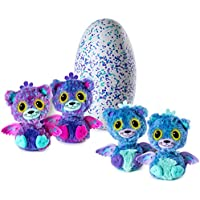 Hatchimals Surprise Peacat Hatching Egg with Surprise Twin Interactive Creatures by Spin Master
