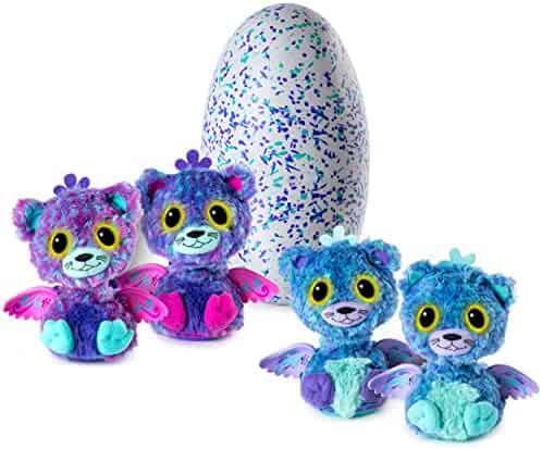 Hatchimals Surprise – Peacat – Hatching Egg with Surprise Twin Interactive Creatures by Spin Master
