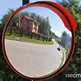 ZNND Convex Traffic Mirror 100cm Wide Angle Clear