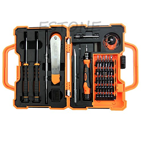 Armyshop Jakemy 45 In 1 Screwdriver Repair Opening Tools Box Set Kit For Mobile Phone - Guide Shape Glasses Face