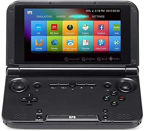 GPD XD Plus [Latest HW & Most Stable UPDATE] Handheld Gaming Console 5″ Touchscreen Android 7.0 Portable Video Game Player Laptop MT8176 Hexa-core CPU,PowerVR GX6250 GPU,4GB/32GB,Support Google Store