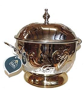 King Hotpot Casserole 24k. Gold Plated - 6000ml