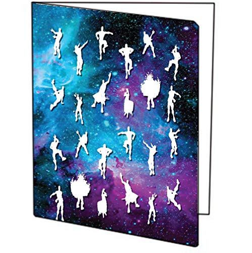 Dance Moves Three (3) Pack of Printed 9x12 Pocket Folders -