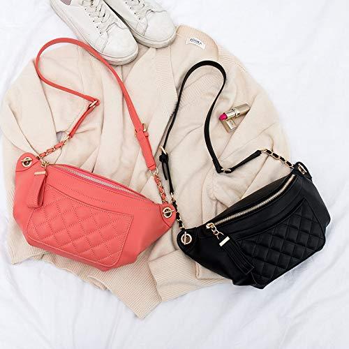 Amazon.com: Dunnomart Genuine Leather Fanny Pack for Women ...