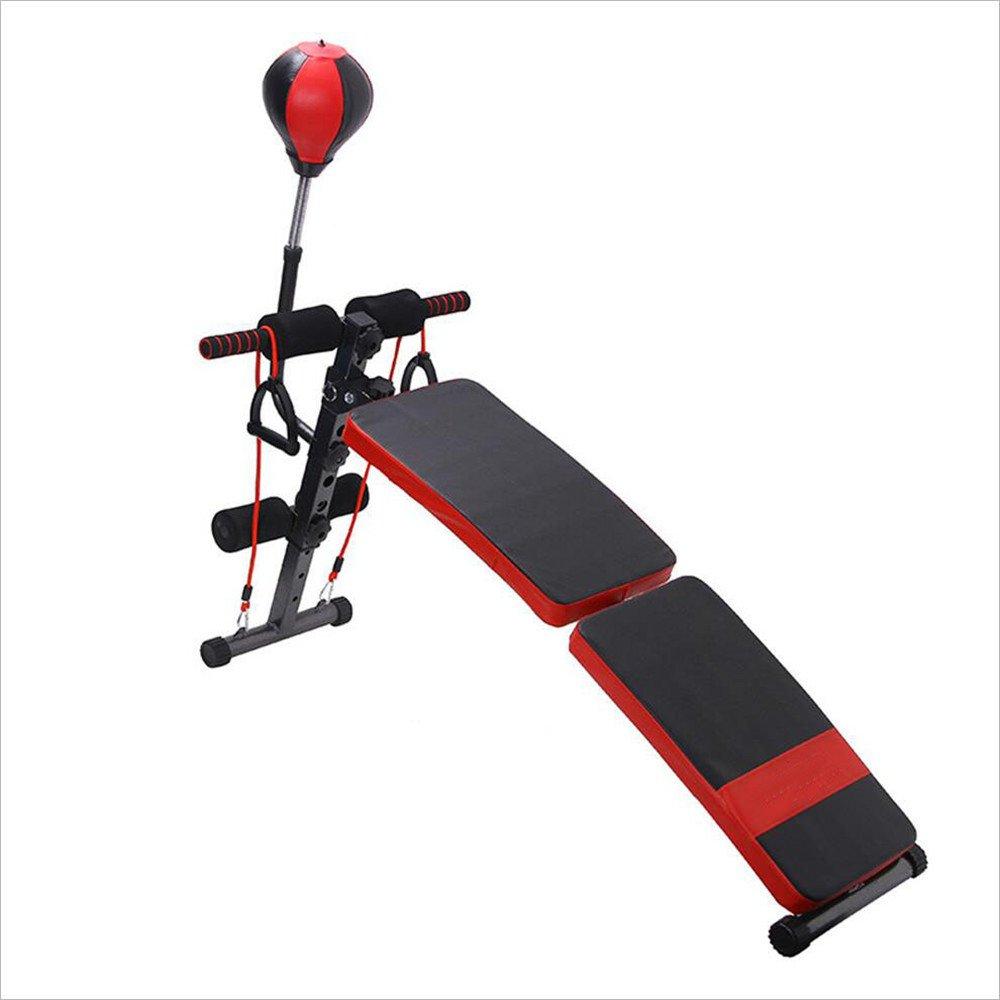 シットアップ マルチシットアップベンチ シットアップベンチ 腹筋 背筋 全身を鍛えるマルチエクササイズ 男女兼用 腹肌板弧形   B07LC6GJG1