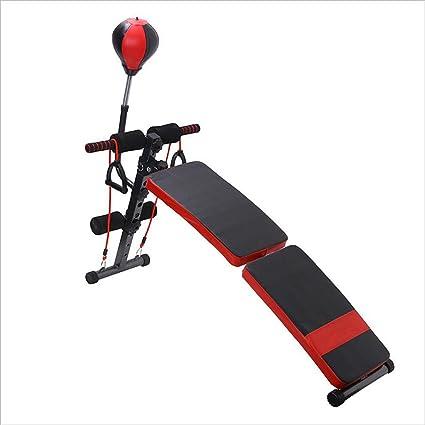 Ejercicio aerobico Tablero supino / Equipo de ejercicios abdominales / Abdomen interior Múltiples funciones Músculos abdominales