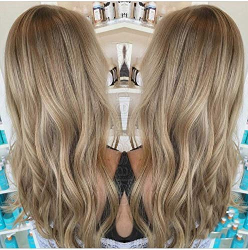 Laavoo 16 Flip On Human Hair Extensions Balayage Ombre Light Brown To Golden Blonde And Brown