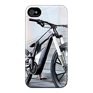 Saraumes Scratch-free Phone Case For Iphone 4/4s- Retail Packaging - Audi E Bike Worthersee Concept 2012