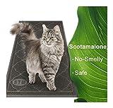 Large Litter Mat 35.5'' x 24'' ,Cat Litter Mat, Litter Box Mat, Cat Mat, Kitty Litter Mat ,Traps Messes, Easy Clean, Durable, Non Toxic Trapper Rug