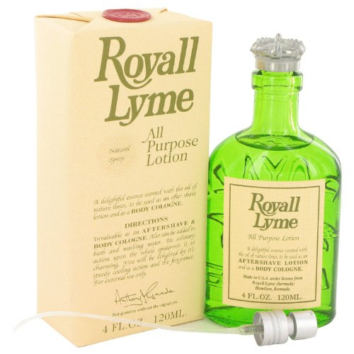 Royall Lyme By Royall Fragrances 4 oz All Purpose Lotion / Cologne for ()