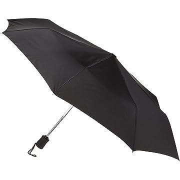 Lewis N. Clark Travel Umbrella: Windproof & Water Repellent with Mildew Resistant Fabric