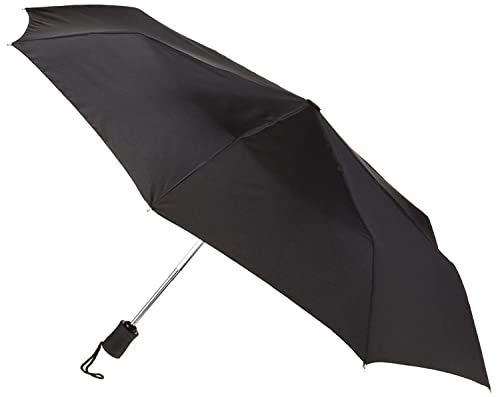 Lewis N. Clark Travel Umbrella: Windproof & Water Repellent with Mildew Resistant Fabric