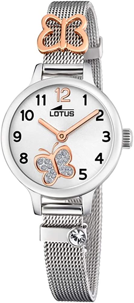 Lotus Reloj para de Cuarzo con Correa en Acero Inoxidable 18659/2