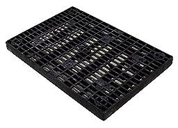 FSI North America - F-TDMSPC - Elevation Grid, Black Plastic, Height 36, Width 2-7/8, Length 24