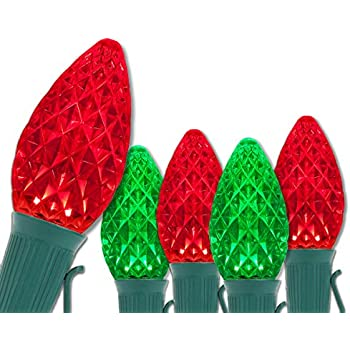 C7 OptiCore Commercial Red and Green Christmas Lights - Christmas String  Lights, Durable Outdoor Christmas - C7 OptiCore Commercial Red And Green Christmas Lights - Christmas String  Lights, Durable Outdoor Christmas Lights €� Brightest LED Christmas Lights;