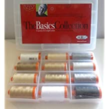 Aurifil Thread THE BASICS COLLECTION by Mark Lipinski 50wt Cotton 12 Large Spools 1300m each