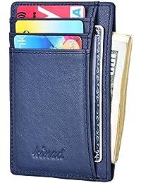 Slim Wallet RFID Front Pocket Wallet Minimalist Secure...