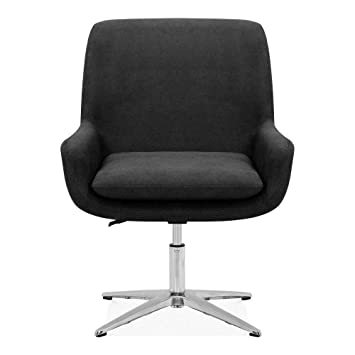 Terrific Cult Living Cromwell Swivel Lounge Chair Fabric Upholstered Ibusinesslaw Wood Chair Design Ideas Ibusinesslaworg